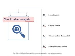 New Product Analysis Ppt Professional Slide Portrait