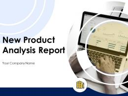 New Product Analysis Report Powerpoint Presentation Slides