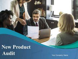 New Product Audit Powerpoint Presentation Slides