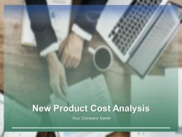New Product Cost Analysis Powerpoint Presentation Slides