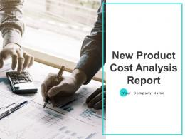 New Product Cost Analysis Report Powerpoint Presentation Slides