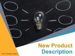 New Product Description Powerpoint Presentation Slides