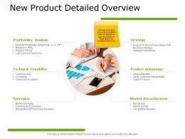 New Product Detailed Overview Market Attractiveness Ppt Powerpoint Presentation Summary Graphics Design