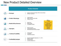 New Product Detailed Overview Ppt Portfolio Professional