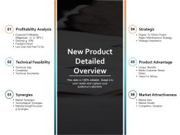 New Product Detailed Overview Ppt Powerpoint Presentation File Structure