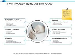 New Product Detailed Overview Ppt Powerpoint Presentation Gallery Samples