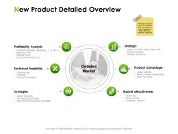 New Product Detailed Overview Ppt Powerpoint Presentation Pictures Infographics