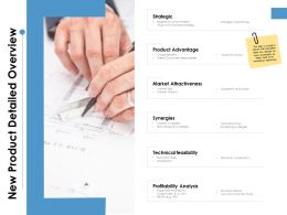 New Product Detailed Overview Ppt Powerpoint Presentation Slide