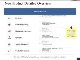 New Product Detailed Overview Ppt Professional Master Slide