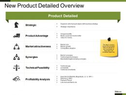 New Product Detailed Overview Presentation Graphics