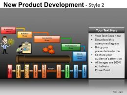 New Product Development 2 Powerpoint Presentation Slides DB