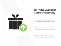 New Product Development As Brand Growth Strategy