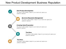 New Product Development Business Reputation Management Creating Value Proposition Cpb