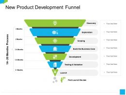New Product Development Funnel Scoping Ppt Powerpoint Presentation Infographics Gallery
