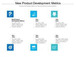 New Product Development Metrics Ppt Powerpoint Presentation Professional Graphics Cpb