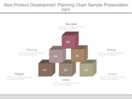 New Product Development Planning Chart Sample Presentation Ppt