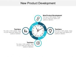 New Product Development Ppt Powerpoint Presentation Gallery Objects Cpb