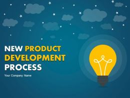 New Product Development Process PowerPoint Presentation Slides