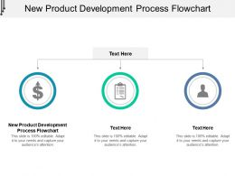 New Product Development Process Flowchart Ppt Powerpoint Presentation Inspiration Mockup Cpb