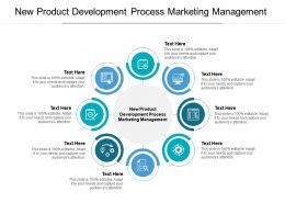 New Product Development Process Marketing Management Ppt Powerpoint Presentation Gallery Cpb
