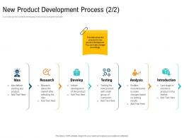 New Product Development Process Research Unique Selling Proposition Of Product Ppt Designs