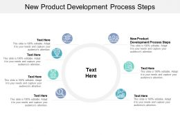 New Product Development Process Steps Ppt Powerpoint Presentation Professional Designs Cpb