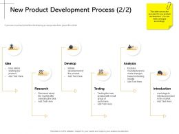 New Product Development Process Testing M2169 Ppt Powerpoint Presentation Layouts Outfit