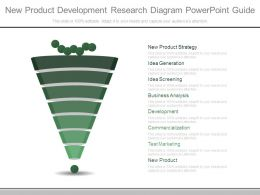 New Product Development Research Diagram Powerpoint Guide