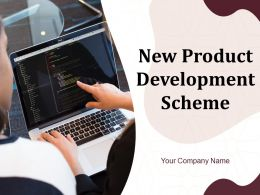 New Product Development Scheme Powerpoint Presentation Slides