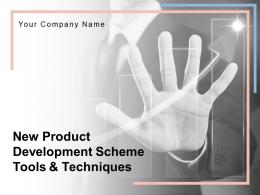 New Product Development Scheme Tools And Techniques Powerpoint Presentation Slides