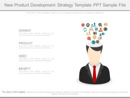 22322010 Style Linear 1-Many 1 Piece Powerpoint Presentation Diagram Infographic Slide
