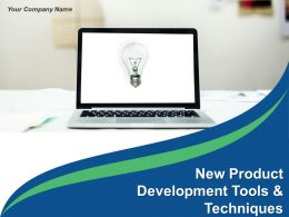 New Product Development Tools And Techniques Powerpoint Presentation Slides