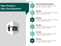 New Product Idea Development Ppt Powerpoint Presentation File Graphics Template Cpb