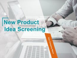 New Product Idea Screening Powerpoint Presentation Slides