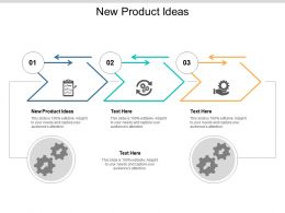 New Product Ideas Ppt Powerpoint Presentation Styles Templates Cpb