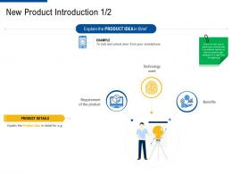 new product introduction brief factor strategies for customer targeting ppt brochure