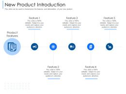 New Product Introduction Feature M2411 Ppt Powerpoint Presentation File Template