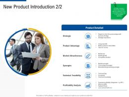 new product introduction gap factor strategies for customer targeting ppt structure