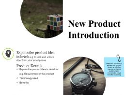 New Product Introduction Ppt Inspiration