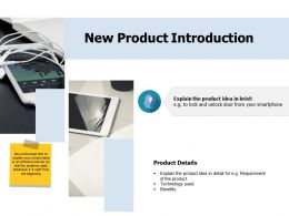 New Product Introduction Ppt Portfolio Professional