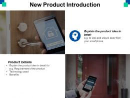 New Product Introduction Ppt Powerpoint Presentation File Files