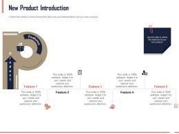 New Product Introduction Ppt Powerpoint Presentation Infographics Themes