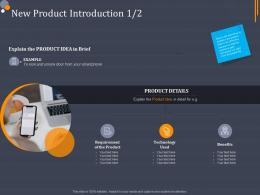 New Product Introduction Product Category Attractive Analysis Ppt Designs