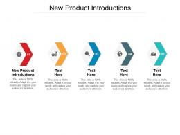 New Product Introductions Ppt Powerpoint Presentation Styles Layout Ideas Cpb