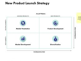 New Product Launch Strategy Ppt Powerpoint Presentation Icon Samples