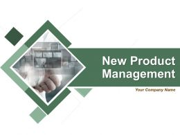 New Product Management Powerpoint Presentation Slides