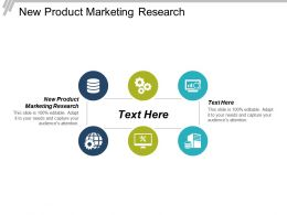 New Product Marketing Research Ppt Powerpoint Presentation File Background Cpb