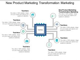 New Product Marketing Transformation Marketing Ppt Powerpoint Presentation Styles Files Cpb