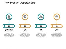New Product Opportunities Ppt Powerpoint Presentation Inspiration Graphic Tips Cpb