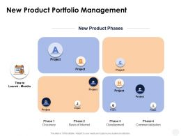 New Product Portfolio Management Development Ppt Powerpoint Presentation Gallery Themes